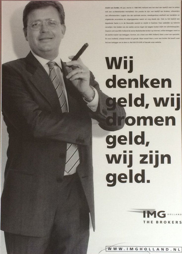 Reclameposter IMG Holland