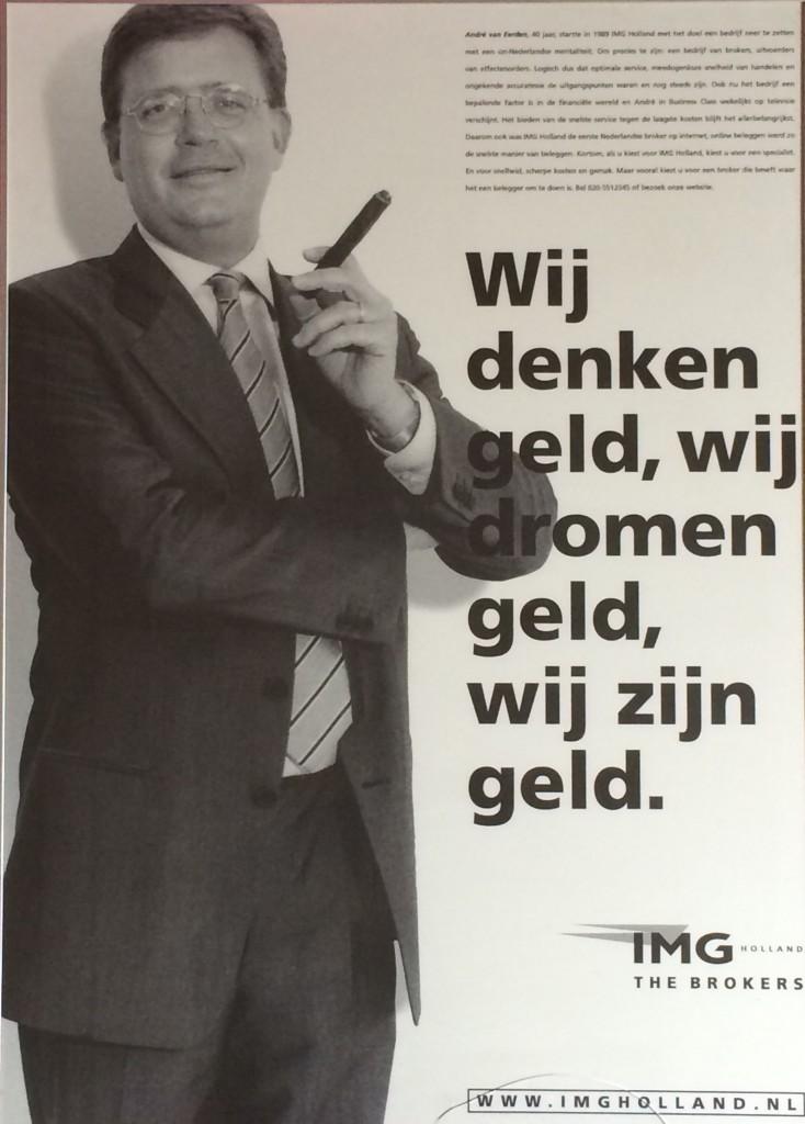 Reclameposter IMG Holland
